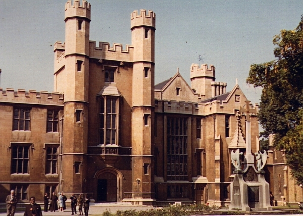 Lambeth Palace, official residence of the Archbishop of Canterbury, 22 July 1966
