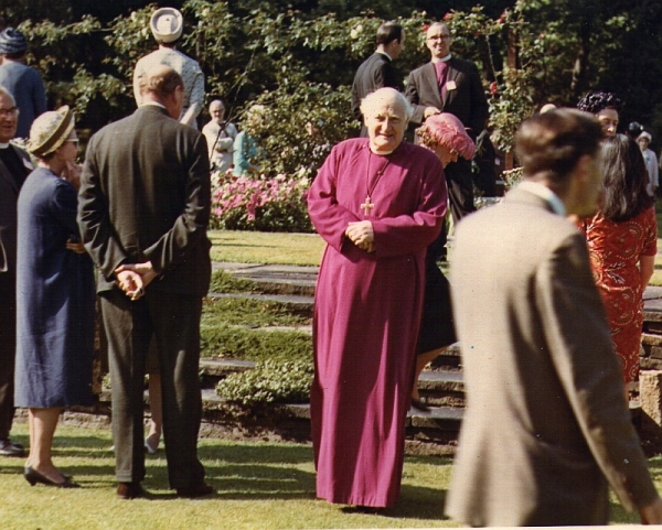 The Archbishop of Canterbury's Garden Party for the reception of missionaries and overseas visitors, 22 July 1966