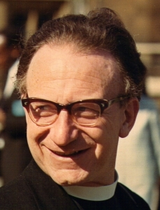 Revd Mervyn Sweet, former Vicar of St Alphege's Church, Pietermaritzburg, 22 July 1966