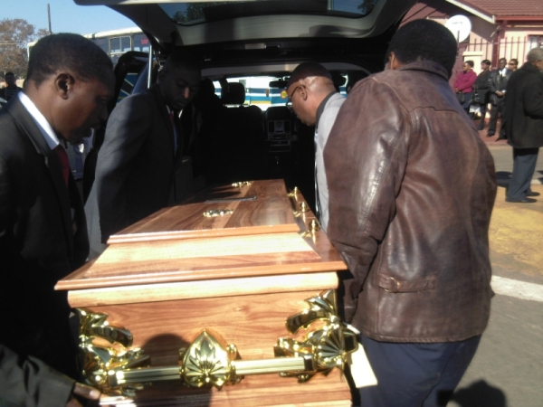 Funeral of Philip Mabena