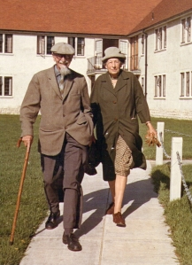 Arthur and Florence Blaxall at Alverna House in Bournemouth, 6 September 1966