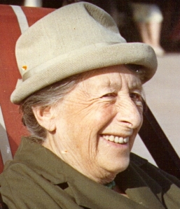 Florence Blaxall 6 September 1966, Bournemouth Beach