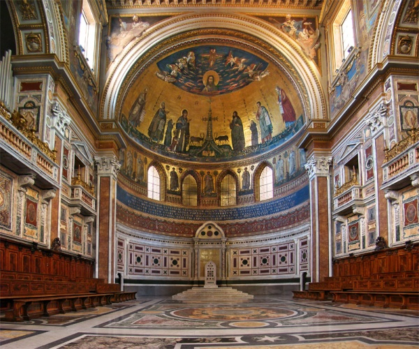 St John Lateran, the Cathedral of the Bishop of Rome